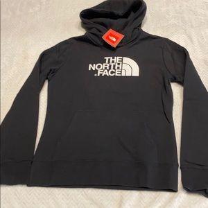 North face women's hoodie black